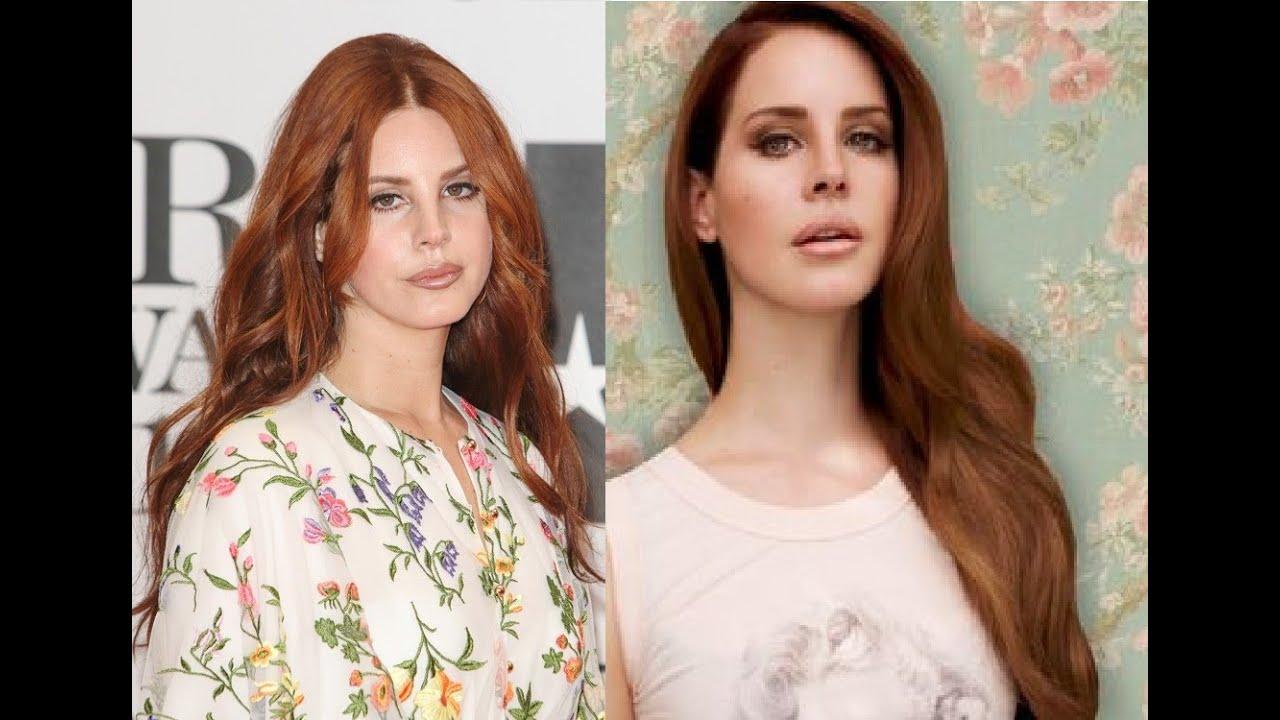 Lana Del Rey And Auburn Hair Colors Youtube