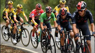 How the Vuelta battle played out between Roglic and Carapaz
