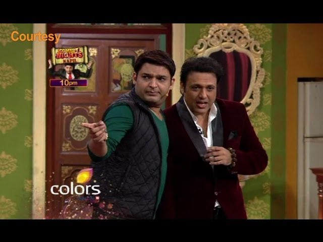 Govinda on Comedy Nights With Kapil Travel Video