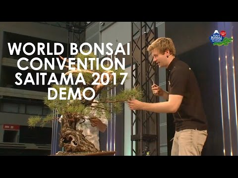 World Bonsai Convention Demonstration 2017