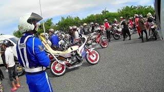 【バイク車載】お巡りさん、数に対しては無力感・・