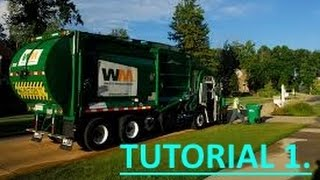 Recycle (Garbage Truck Simulator) Tutorial 1  Beginning Game play tutorial