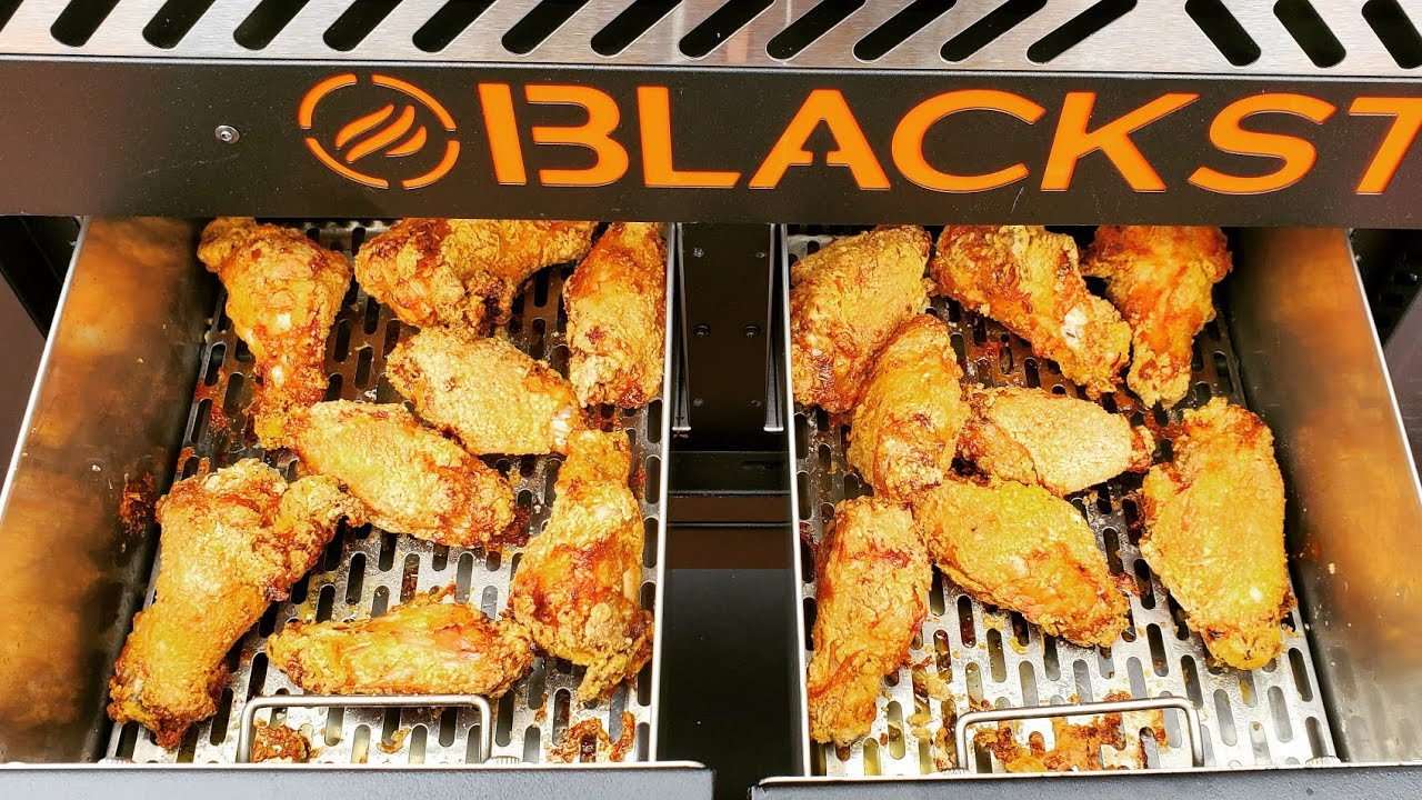 Blackstone Air Fryer Griddle Combo Airfryer Chicken Wings