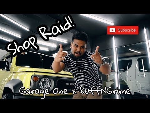 SHOP RAID! Ep. 1 - Marco Truck Horns By GARAGE ONE | JIMNY FEST At BUFF N GRIME!