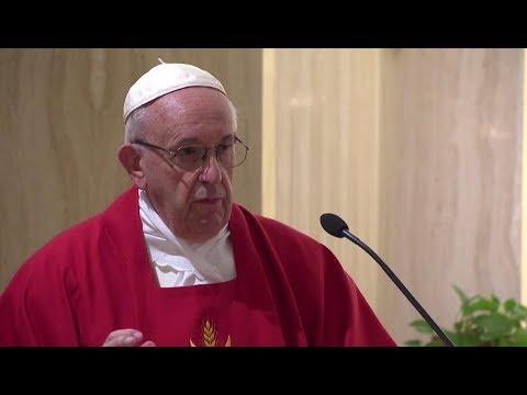 Pope in Santa Marta: a bishop is not a businessman