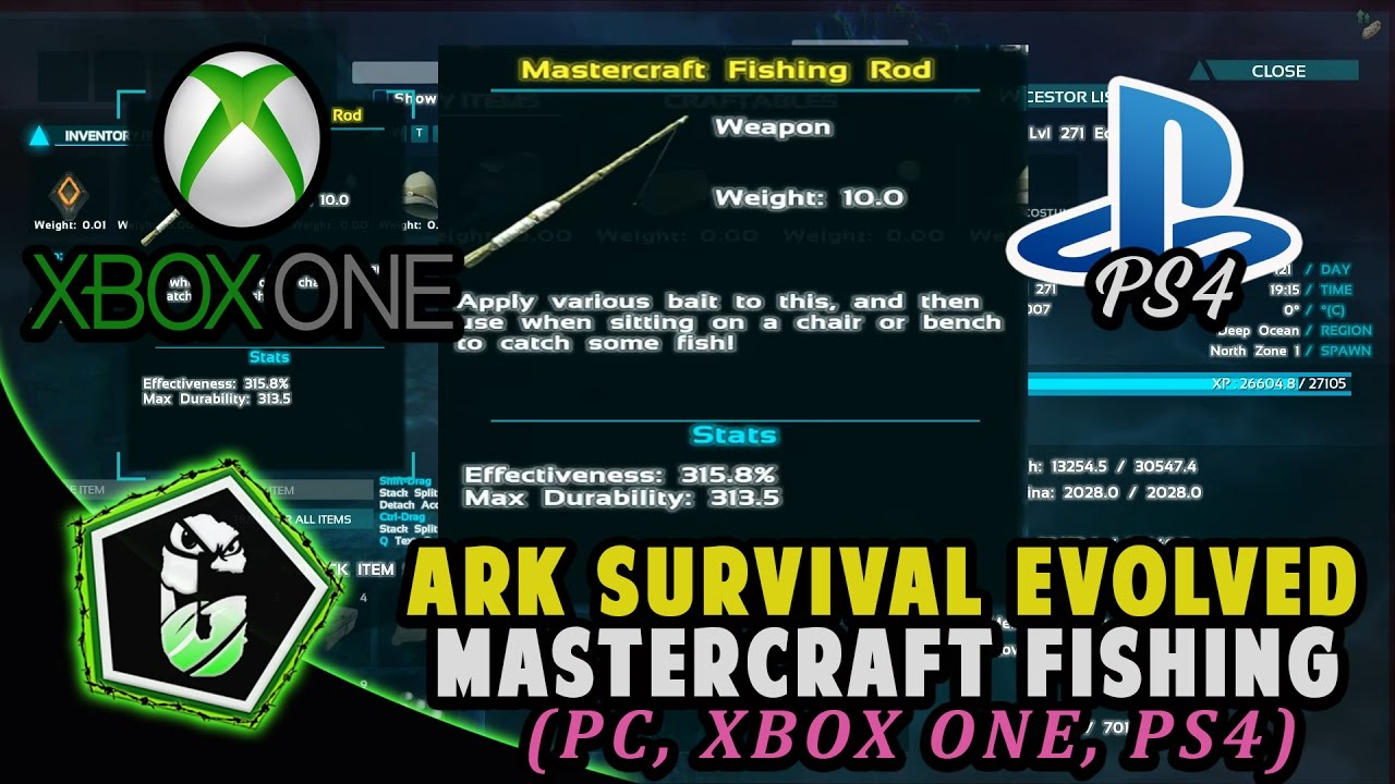 fishing with mastercraft fishing rods how to get them ark fishing with mastercraft fishing rods how to get them ark xbox one pc ps4 malvernweather Gallery