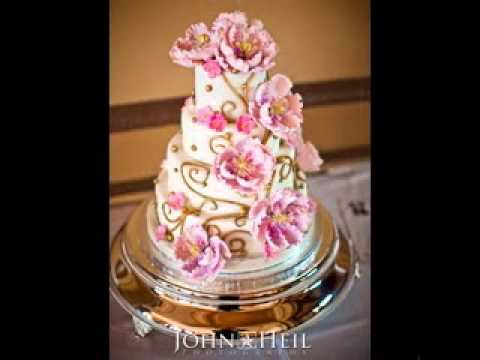 DIY Unique wedding cake decorating ideas - YouTube