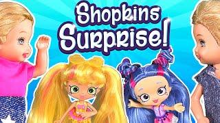 Barbie - The Twins Shopkins Surprise | Ep.119