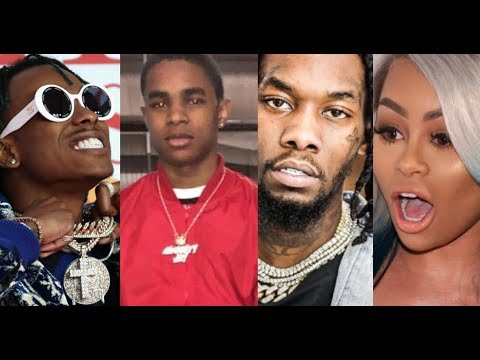 Offset (Migos) DEFENDS Rich The Kid FAKE BEEF with YBN ALMIGHTY JAY over Blac Chyna