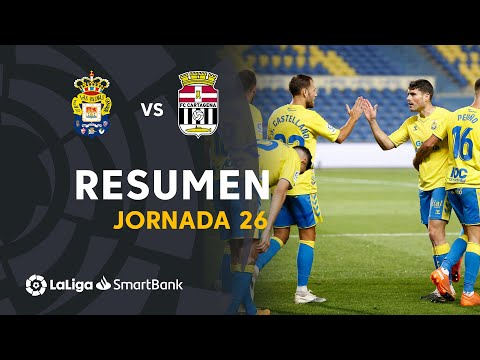Las Palmas Cartagena Goals And Highlights