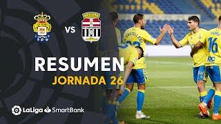 Resumen de UD Las Palmas vs FC Cartagena (2-0)