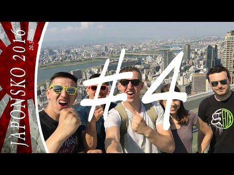 JAPONSKO, Vlog #4 - Osaka Catle, Tempozan, Umeda Sky Building +4 další  (4/8)