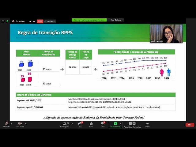 A Reforma da Previdência de Minas Gerais aprovada pela ALMG