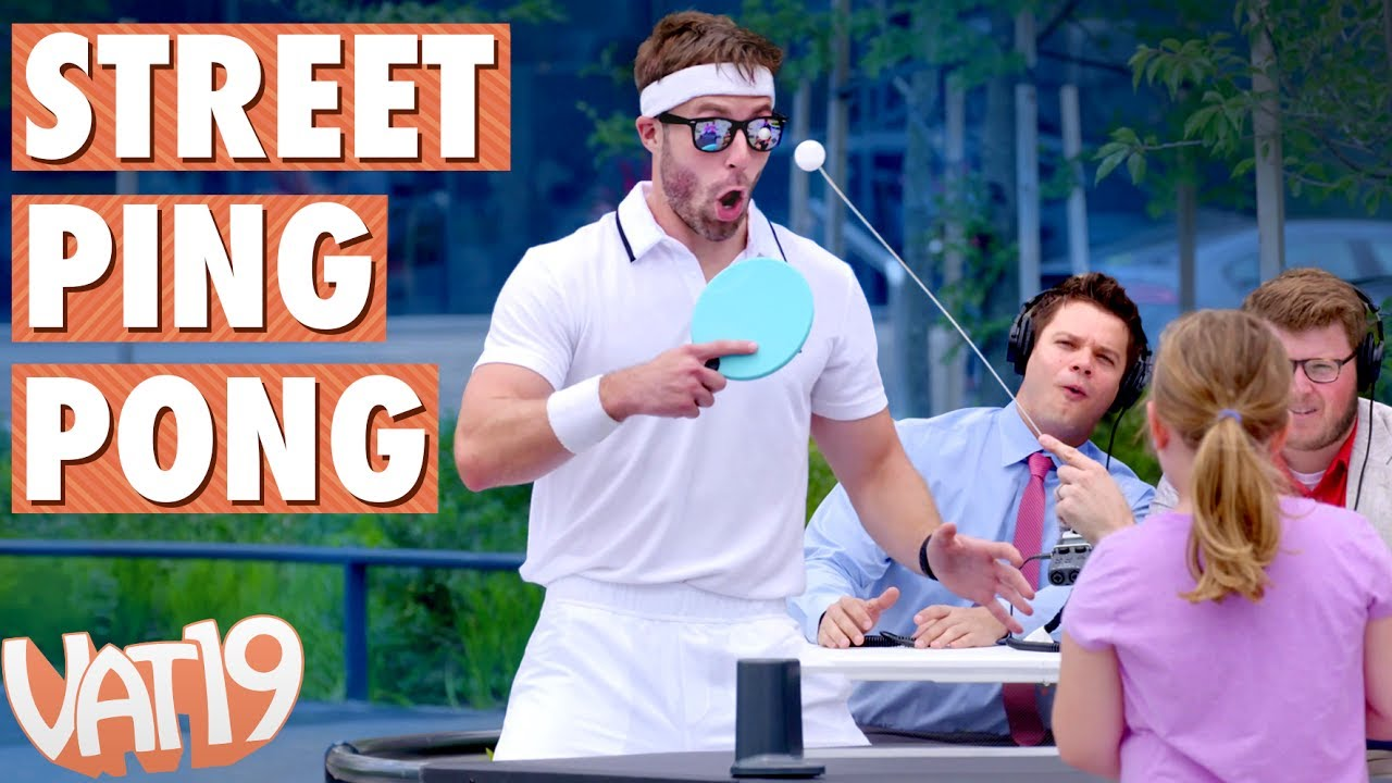 Vat19 Wimbledon: Ping Pong on the Streets - YouTube