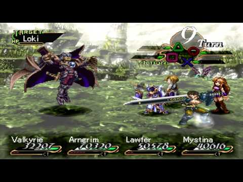 Valkyrie Profile Final Boss Loki [Hard]