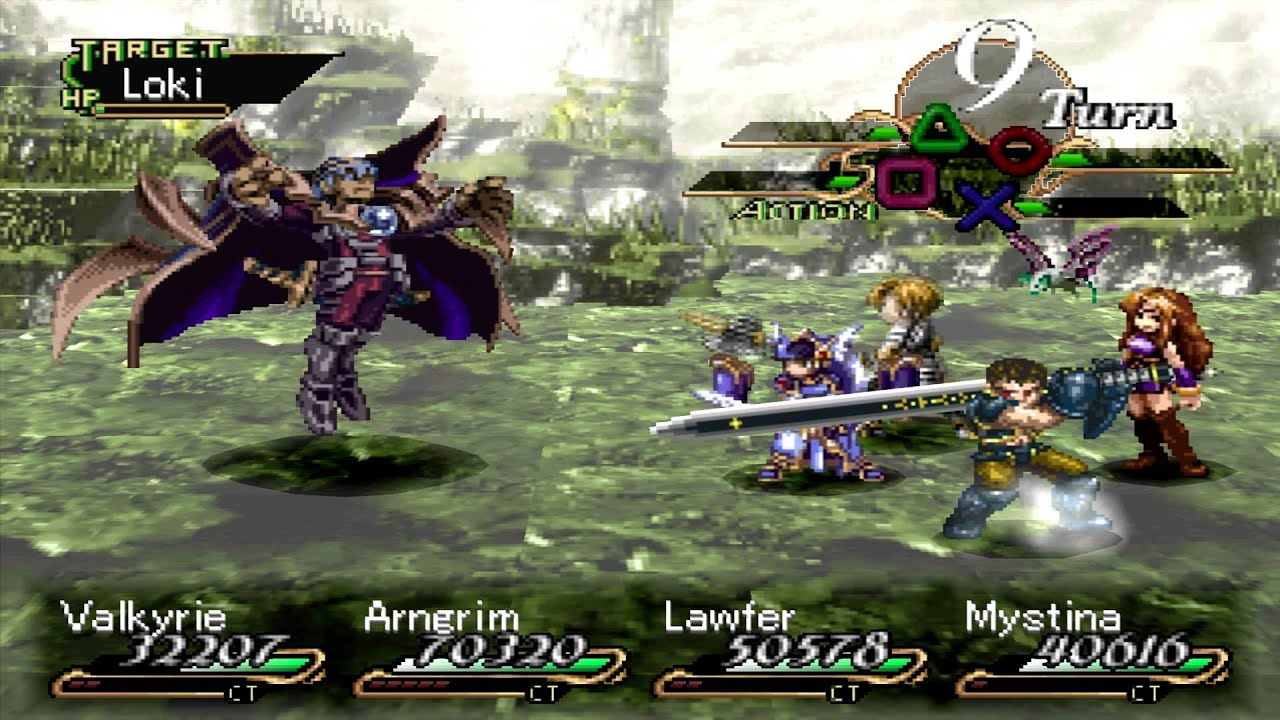 Valkyrie Profile Final Boss Loki Hard Youtube