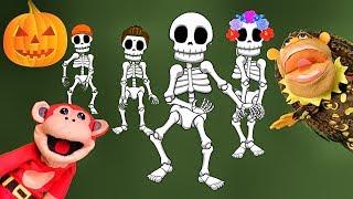 Halloween las mejores Canciones Infantiles | El Mono Sílabo | Barney El Camión |  Lunacreciente thumbnail