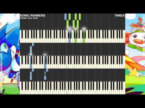 Sonic Runners - Windy Hill Zone | Awesome for Piano