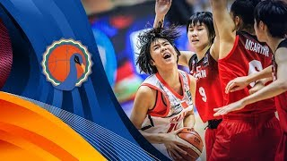China v Japan - Full Game - FIBA U16 Women's Asian Championship 2017