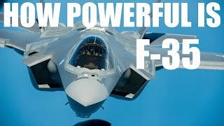 HOW POWEFUL IS F-35C ? | lockheed martin | aircraft jet fighter specification