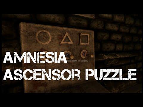 Amnesia: The Dark Descent Ascensor Puzzle 2017 Ps4