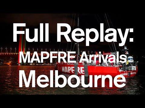 Full Replay: MAPFRE Leg 3 Arrivals in Melbourne | Volvo Ocean Race