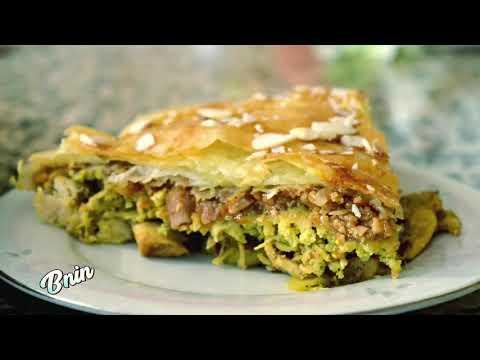 بسطيلة-الدجاج--pastilla-au-poulet-(moroccan-recipe/وصفة-مغربية-/recette-marocaine)-video-5