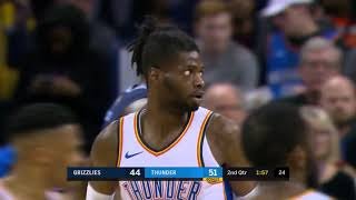 Memphis Grizzlies vs Oklahoma City Thunder   Full Highlights   February 7, 2019   2018 19 NBA Season
