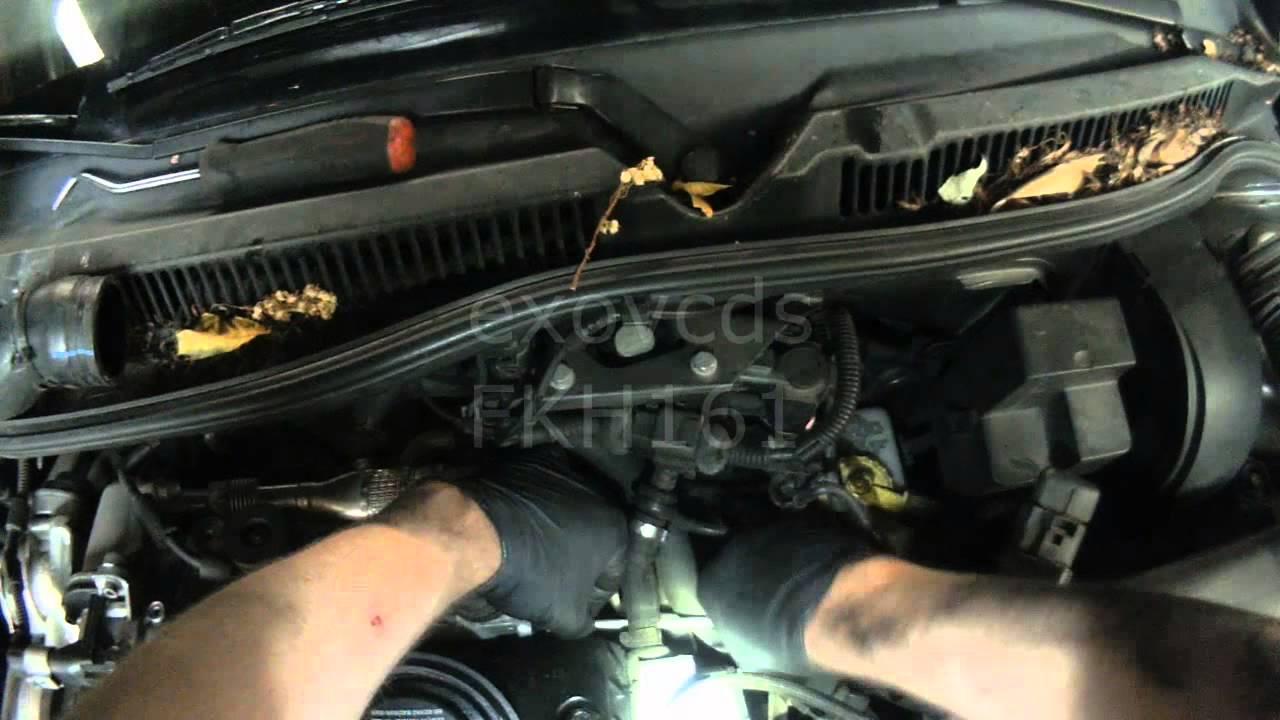 2000 Volkswagen Passat Fuse Diagram Vw A4 Bew Brm Egr Cooler Removal Youtube