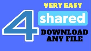how to download any file from 4shared   tutorial   tech master bd1
