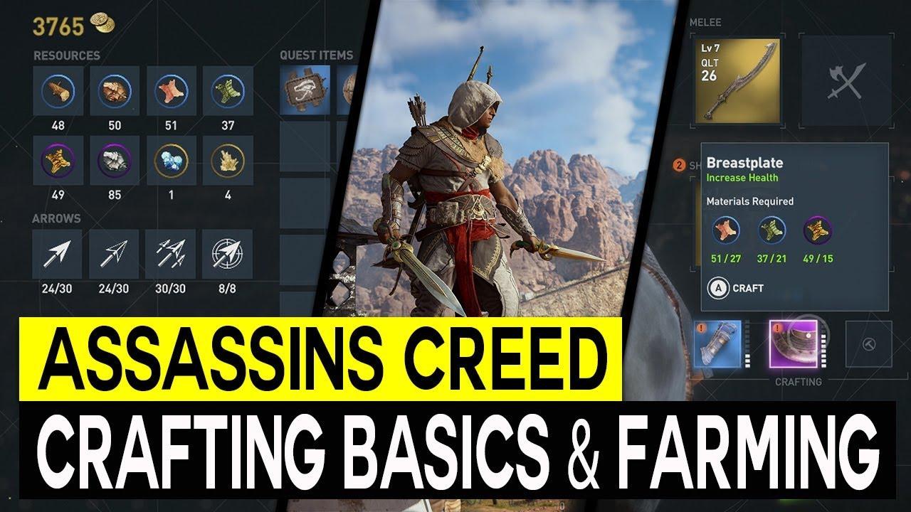 Assassins Creed Origins Crafting Explained Crafting Materials