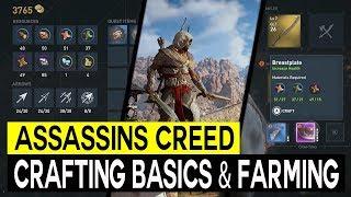 Assassins Creed Origins Crafting Explained, Crafting Materials Farming Area