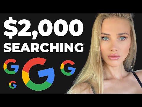 Earn $2,000 Searching on Google   EASY & FAST (Make Money Online)