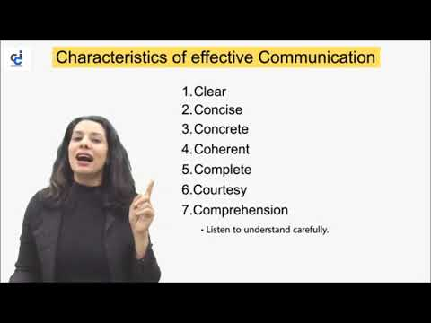 Characteristics Of Effective Communication (CA Foundation) By Prof Anuradha Singh