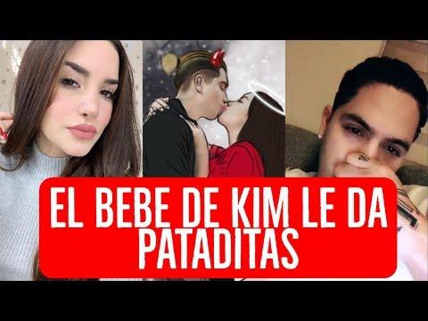 👶🤰 Kimberly SIENTE por PRIMERA VEZ las PATADITAS del BEBE | Juan de Dios y Kimberly Loaiza de CITA