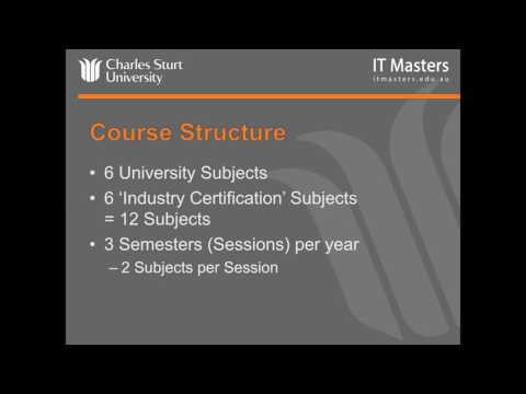 IT Masters/CSU - MBA (Computing), Masters of Project Management and IT Management