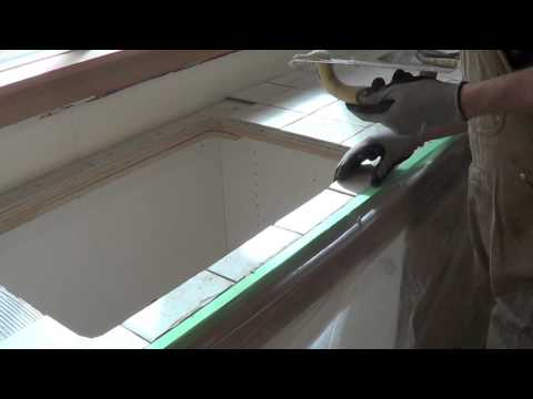How To Build a Custom Tile Counter Top