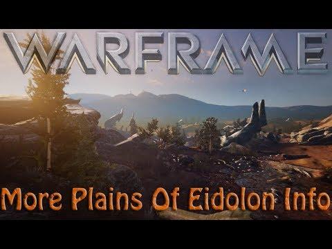 Warframe - More Plains Of Eidolon Info (Devstream 98)