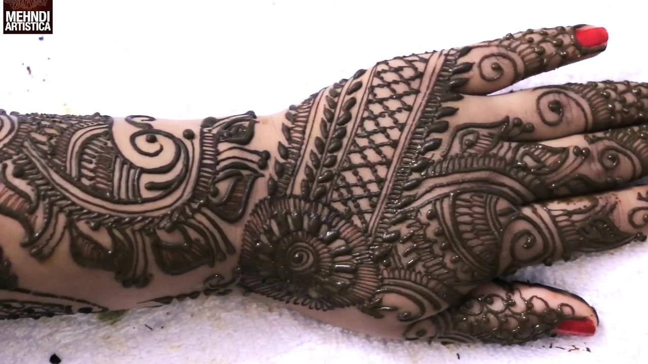 Full Arm Mehndi Designs : Beginners mehndi designs chapter easy full mehendi design for hand