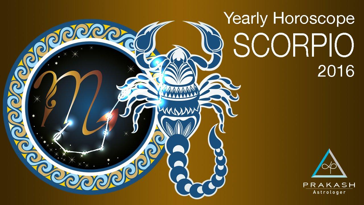Scorpio Yearly Horoscope 2016 in Hindi | Business, Profession & Career |  Prakash Astrologer