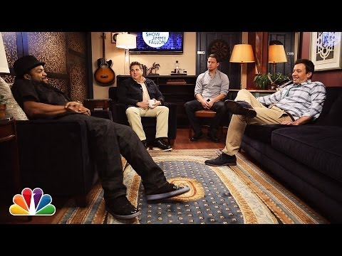 Sup with Jonah Hill, Channing Tatum, Ice Cube and Jimmy Fallon