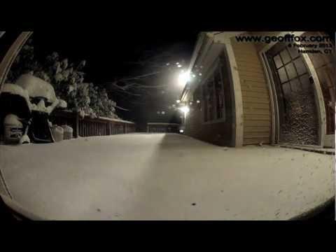 Blizzard in noord-oosten VS barst los