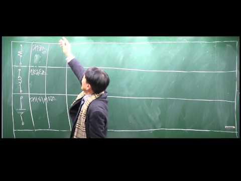 회로이론(RLC기초), 이상열교수님