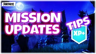 Fortnite StW : Mission Alerts Changes - Not Opening Llamas - Cram Session Tips | PvE