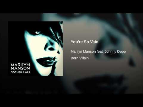 Youre So Vain