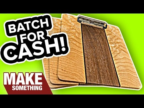 How to Make a Super Awesome Fancy Clip Board | Woodworking Project