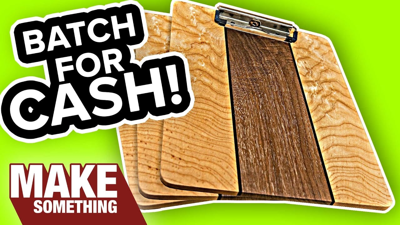 How to Make a Super Awesome Fancy Clip Board | Woodworking ...