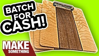 How to Make a Super Awesome Fancy Clip Board   Woodworking Project