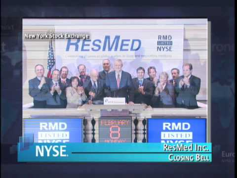 8 February 2010 ResMed Inc . NYSE Euronext Closing Bell.