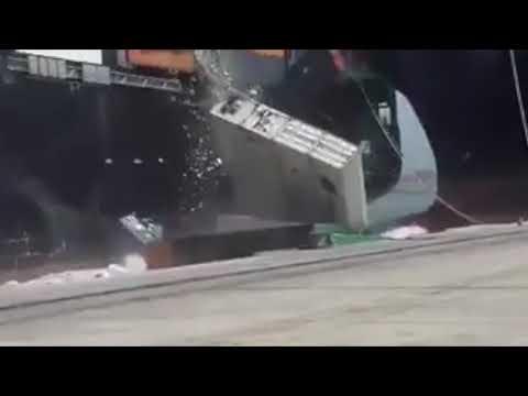 MV Tolten Collision at Port of Karachi
